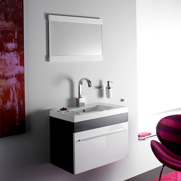 badm bel g ste wc waschbecken waschtisch mit spiegel. Black Bedroom Furniture Sets. Home Design Ideas