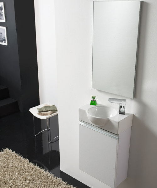 badm bel set venezia 40cm g ste wc waschbecken waschtisch badezimmerm bel ebay. Black Bedroom Furniture Sets. Home Design Ideas