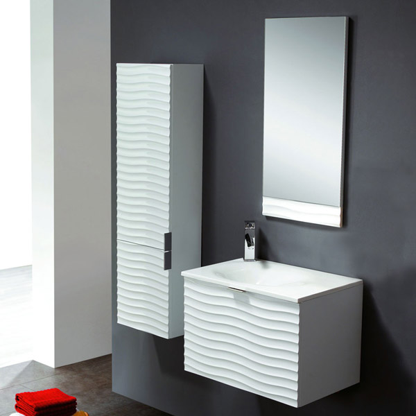 badm bel set g ste wc waschbecken handwaschbecken verona weiss wenge 60cm ebay. Black Bedroom Furniture Sets. Home Design Ideas