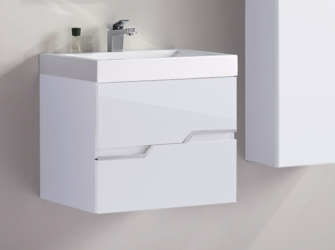 badm bel g ste wc waschbecken waschtisch spiegel antonella grau weiss 60cm ebay. Black Bedroom Furniture Sets. Home Design Ideas