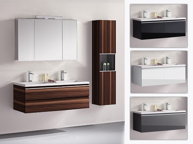 badm bel set g ste wc doppelwaschbecken spiegelschrank. Black Bedroom Furniture Sets. Home Design Ideas