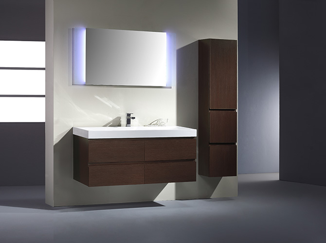 badm bel set g ste wc waschbecken waschtisch spiegel led karmela 120cm ebay. Black Bedroom Furniture Sets. Home Design Ideas