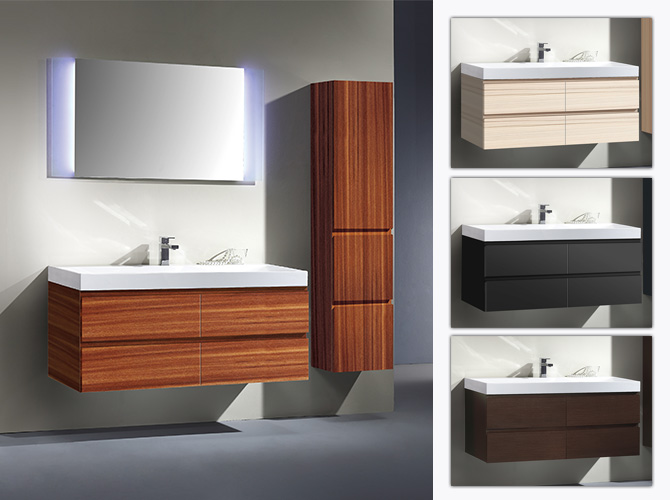 badm bel set g ste wc waschbecken waschtisch spiegel led. Black Bedroom Furniture Sets. Home Design Ideas