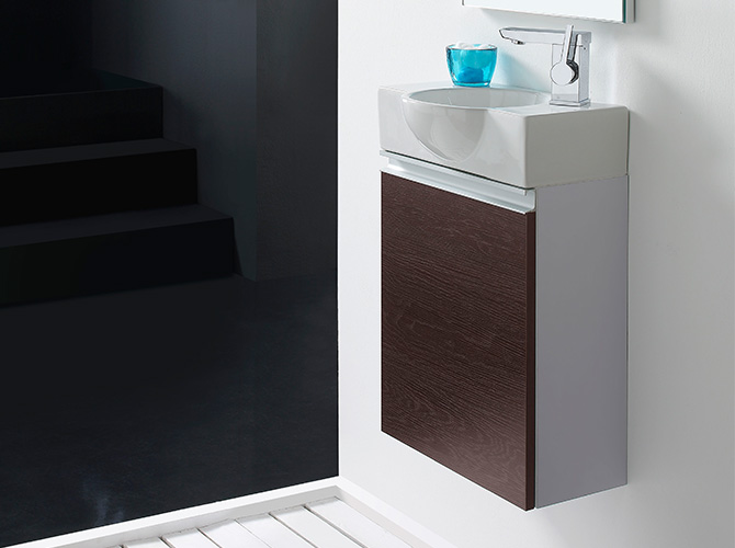 set g ste wc waschbecken waschtisch mit spiegel venezia 40cm. Black Bedroom Furniture Sets. Home Design Ideas