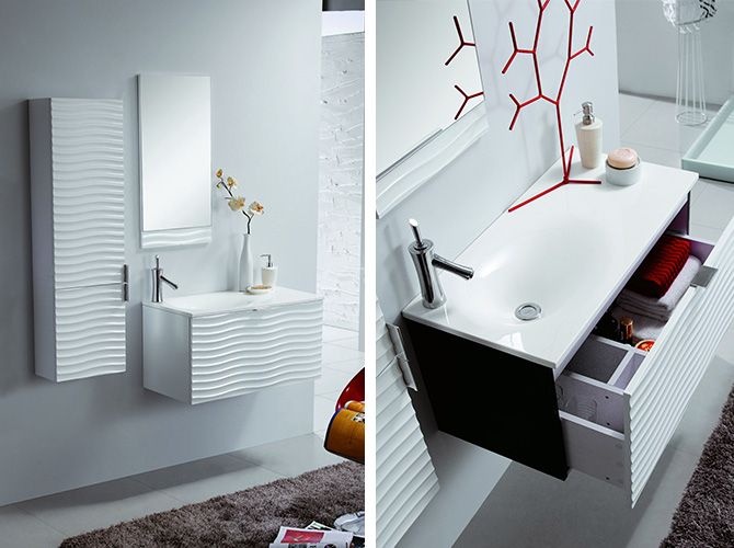 g ste wc mit dusche modern raum und m beldesign inspiration. Black Bedroom Furniture Sets. Home Design Ideas