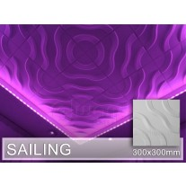 3D Wandpaneel SAILING - 2. Wahl, 44 Stk.
