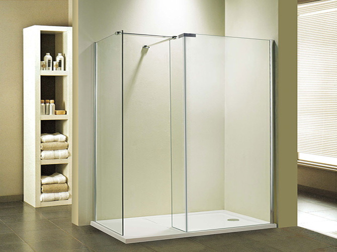 Glaswand Dusche Walk In : 8mm ESG Glas Walk In Dusche Duschkabine Glaswand Duschabtrennung