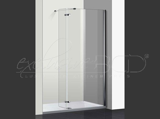 duschwand walk in dusche glaswand duschabtrennung schnecken dusche 90 100 120 cm ebay. Black Bedroom Furniture Sets. Home Design Ideas