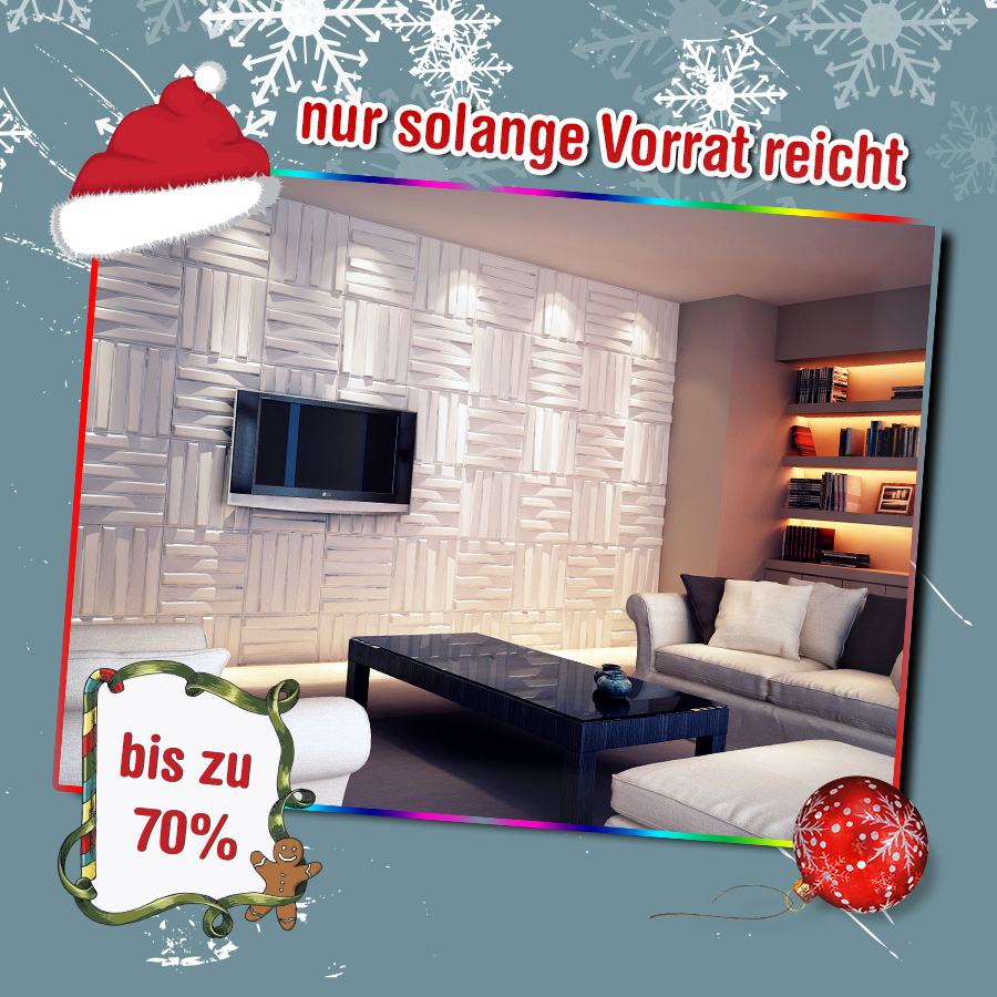 drei d wandverkleidung tapeten wanddeko wandplatten. Black Bedroom Furniture Sets. Home Design Ideas